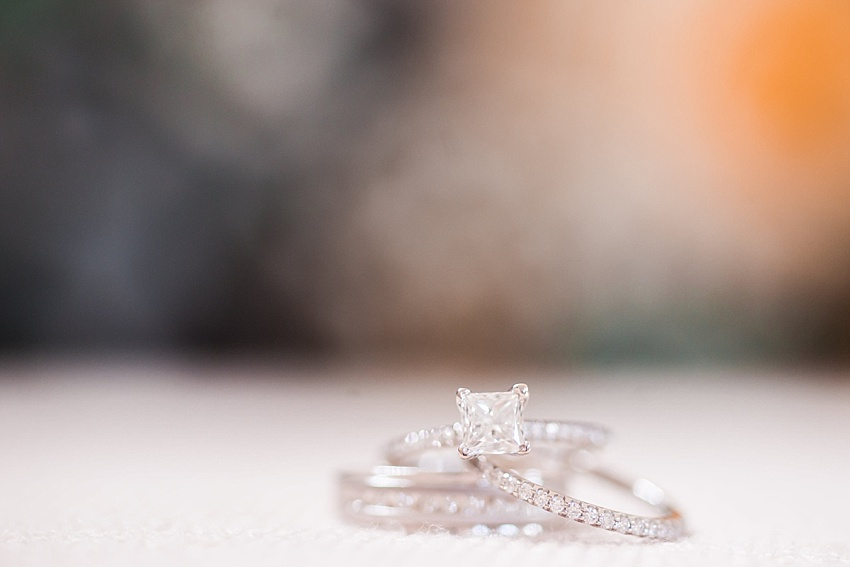 Diamond Engagement Ring, Wedding Bands