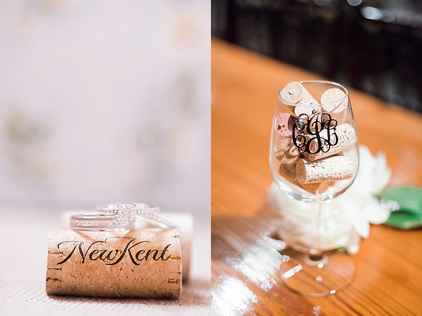 Diamond Engagement Ring, Wedding Bands, Winery Wedding