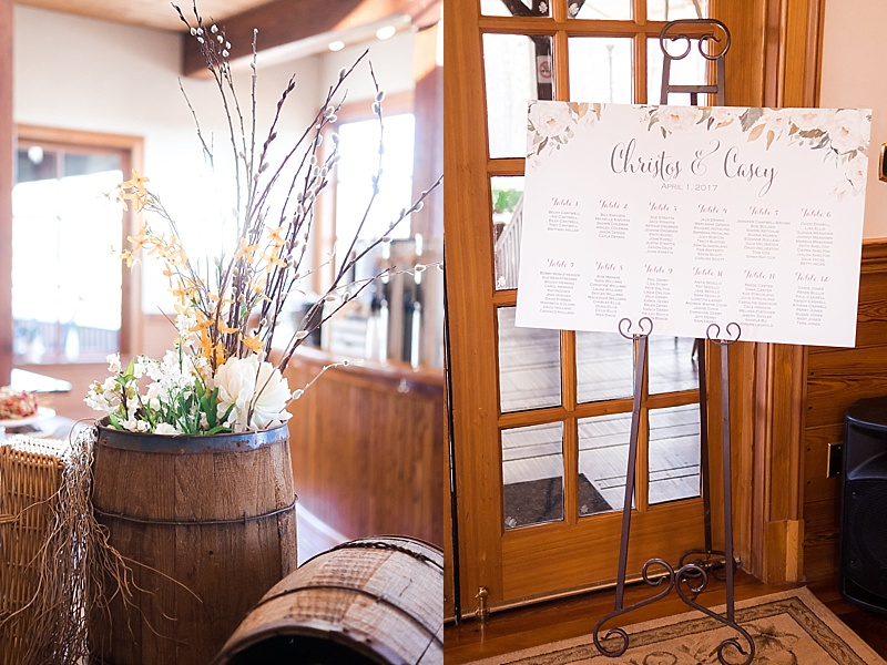 New Kent Winery Wedding Reception