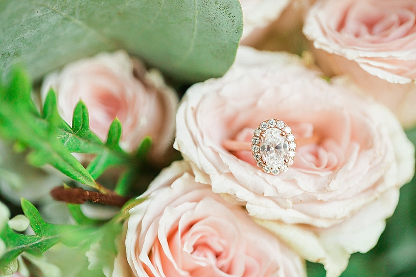 engagement ring, wedding, flowers