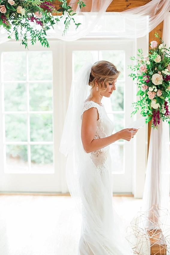 bride, wedding vows