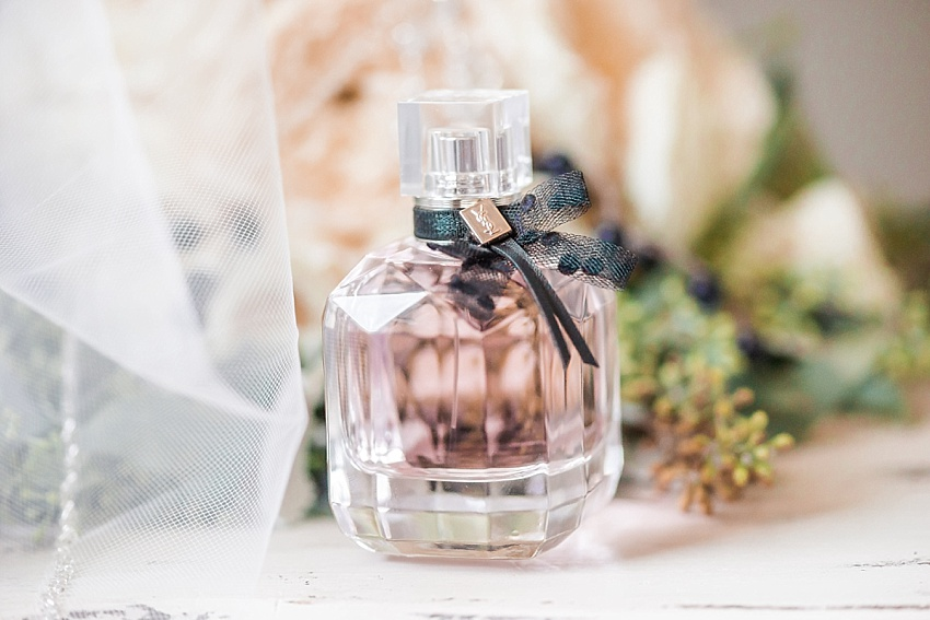 Wedding Perfume, Bride Details