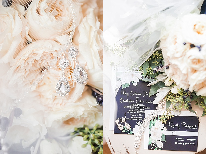 Bride Details, Wedding Invitation, Bouquet