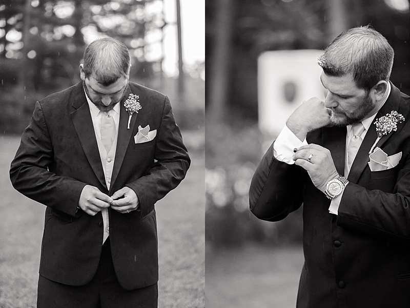 groom, black and white wedding photography