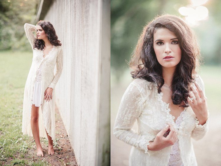 Sharon Elizabeth Photography - Outdoor Boudoir - Soft Elegant Boudoir Session - Smithfield Virginia